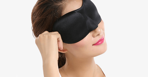 Contoured & Comfortable Sleep Mask - FREE SHIP DEALS