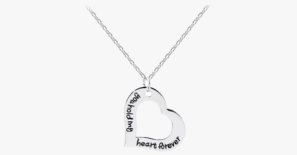 You hold my heart forever Necklace - FREE SHIP DEALS