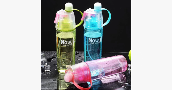 Spray Sports Water Bottle