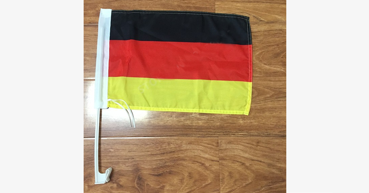 German Flag Car Window Pole Decoration - FREE SHIP DEALS