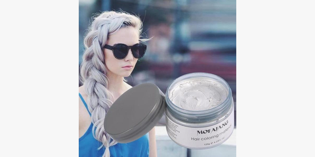 Colorful Hair Wax - Temporary Hair Dye