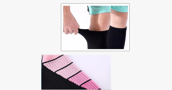 Unisex Compression Support Knee Length Socks 3-Pairs