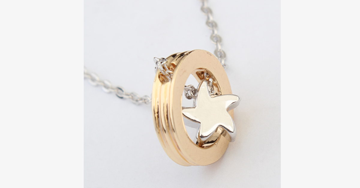 Gold Star Pendant - FREE SHIP DEALS