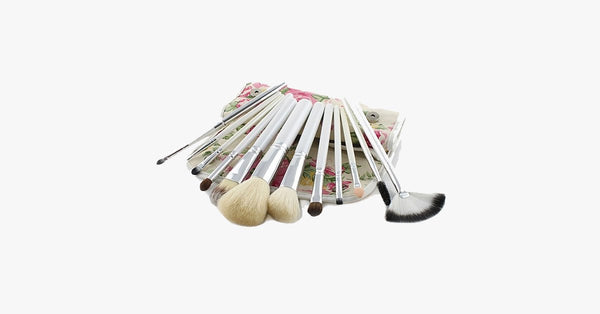 12 Piece Traditional Brush Set - FREE SHIP DEALS