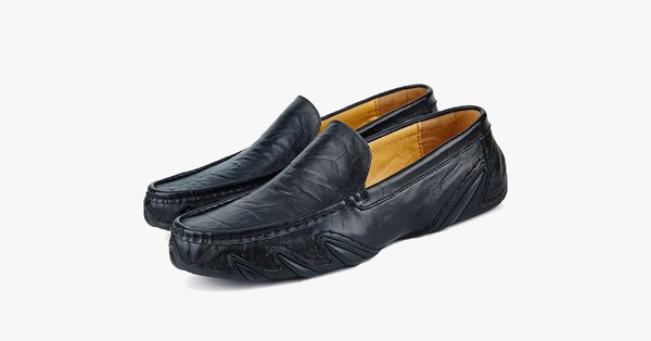 Genuine Leather Loafers Casual Wear For Men