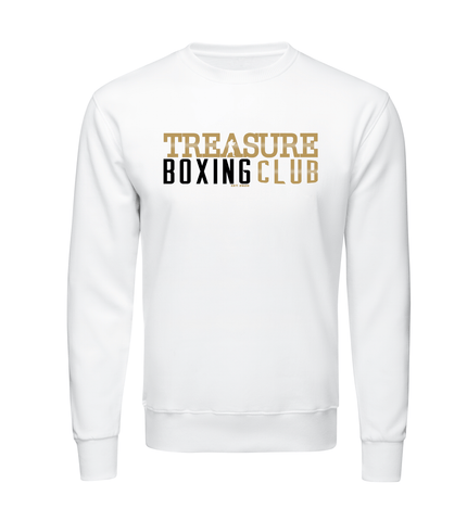 Treasure Boxing Club White Sweat Shirt