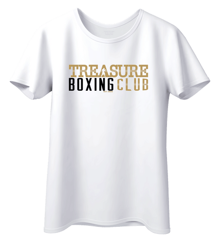 Treasure Boxing Club White T-Shirt