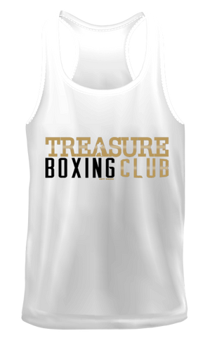 Treasure Boxing Club White Vest