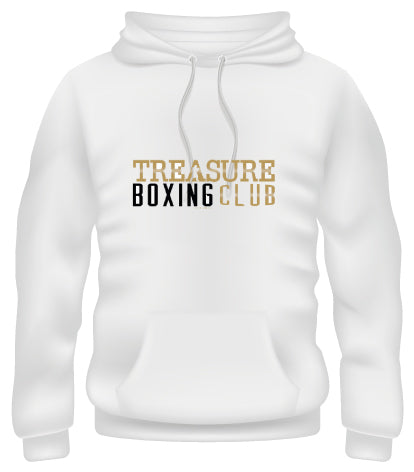 Treasure Boxing Club White Hoodie