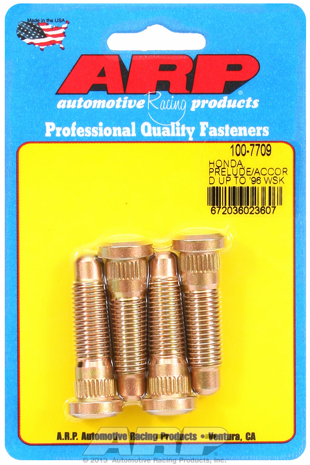 Wheel Stud Kit for Honda Stock Replacement (1996 & Earlier)