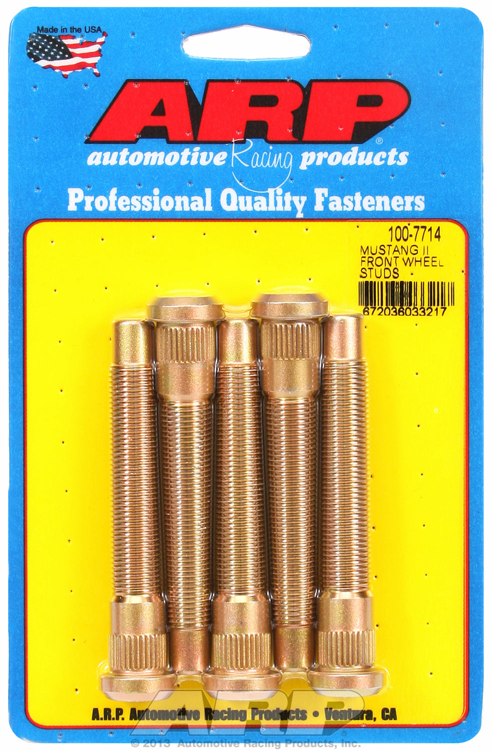 Wheel Stud Kit for Ford Mustang II Front Wheel