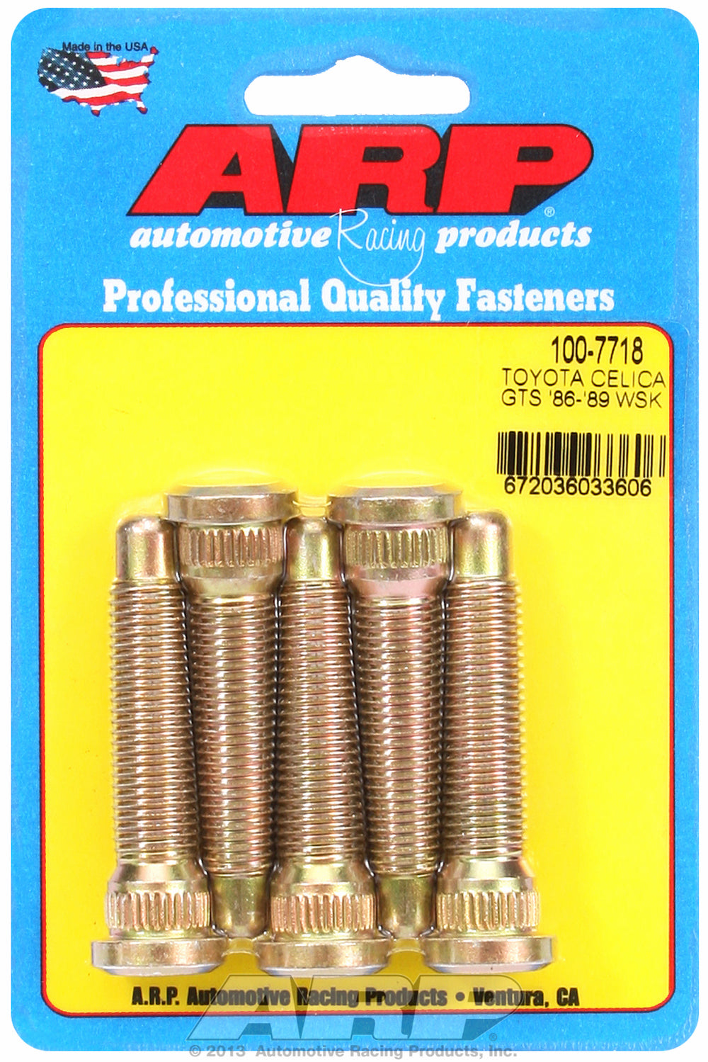 Wheel Stud Kit for Toyota Celica GTS Front