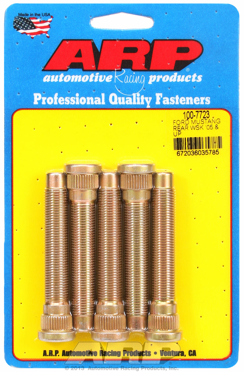Wheel Stud Kit for Mustang (2005 & later) rear & most late model Fords w/ front & rear disc brakes