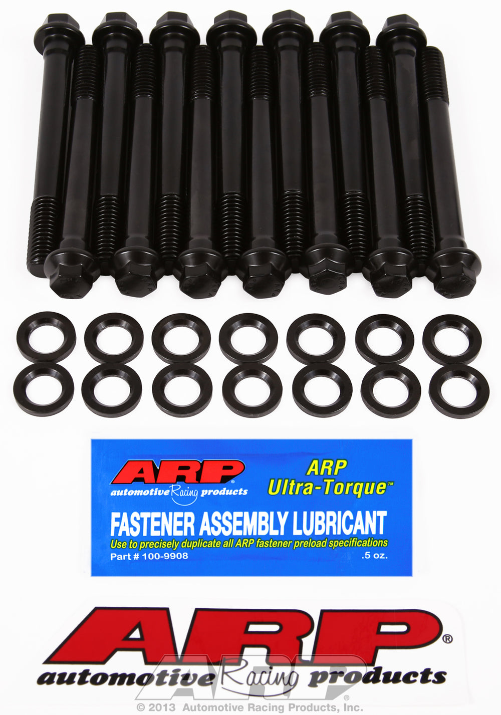 High Performance Cylinder Head Bolt Kit for AMC 258 cid inline 6 with 1/2˝ bolts, all same length