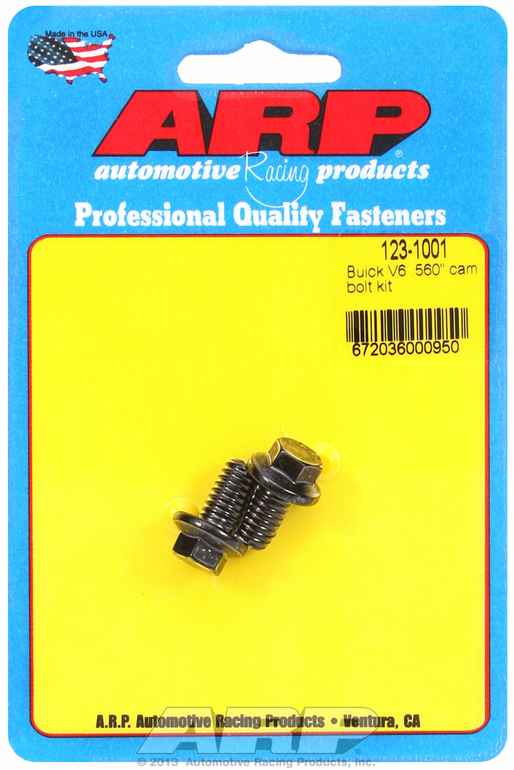Cam Bolt Kit for Buick All V6