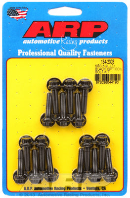 Coil Bracket Bolt Kit for Chevrolet 6.2L (LT1/LT4) Black Oxide - 12-Pt Head