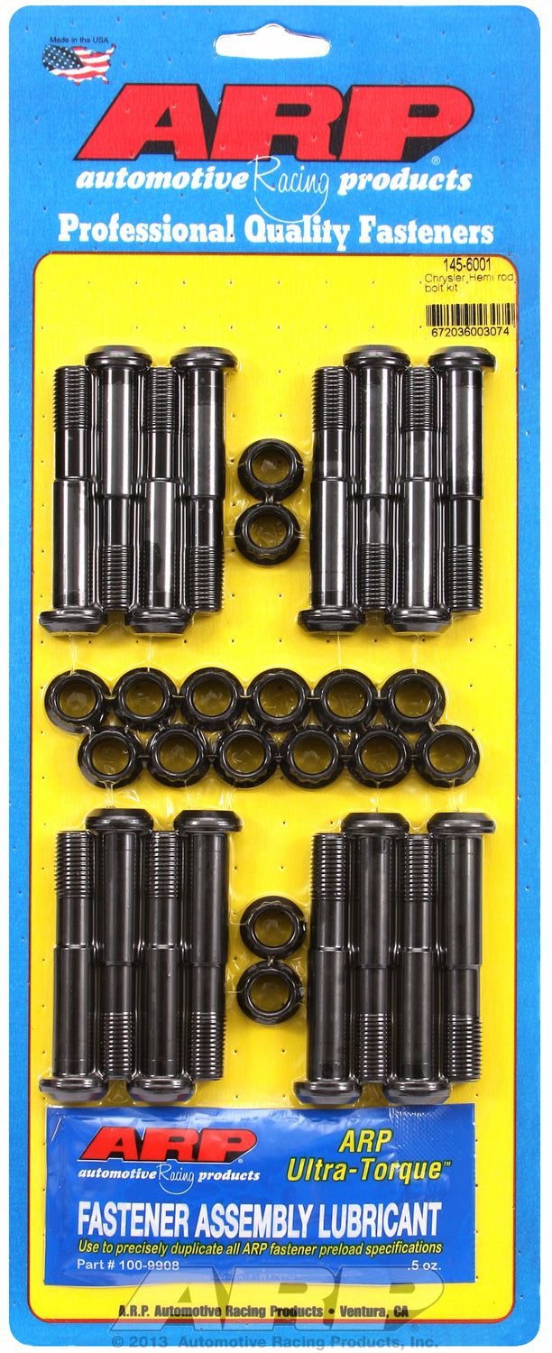 Hi-Perf 8740 Complete Rod Bolt Kit for Chrysler 426 factory Hemi & 426-472-528-572 Gen II Hemi 7/16˝