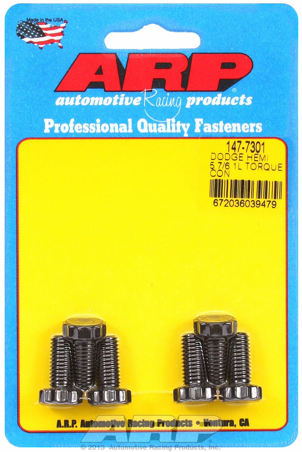 Pro Series Torque Converter Bolts for Chrysler,Dodge NAG1 five speed automatic w/ production convert