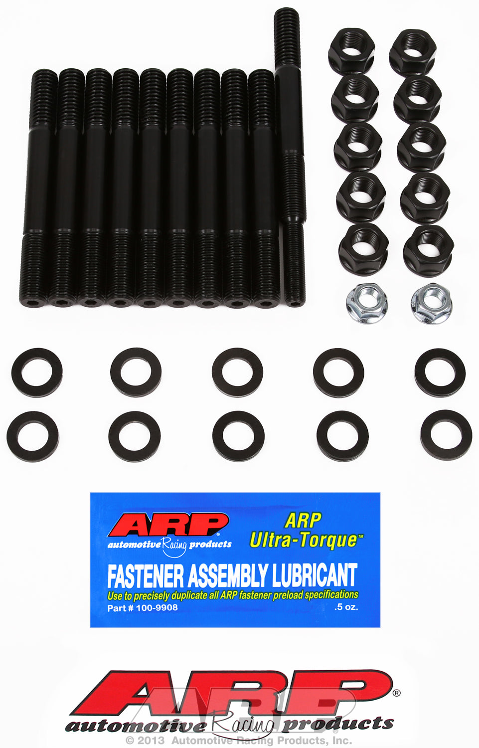Main Stud Kit for Ford 351 Windsor with dual or rear sump oil pan*