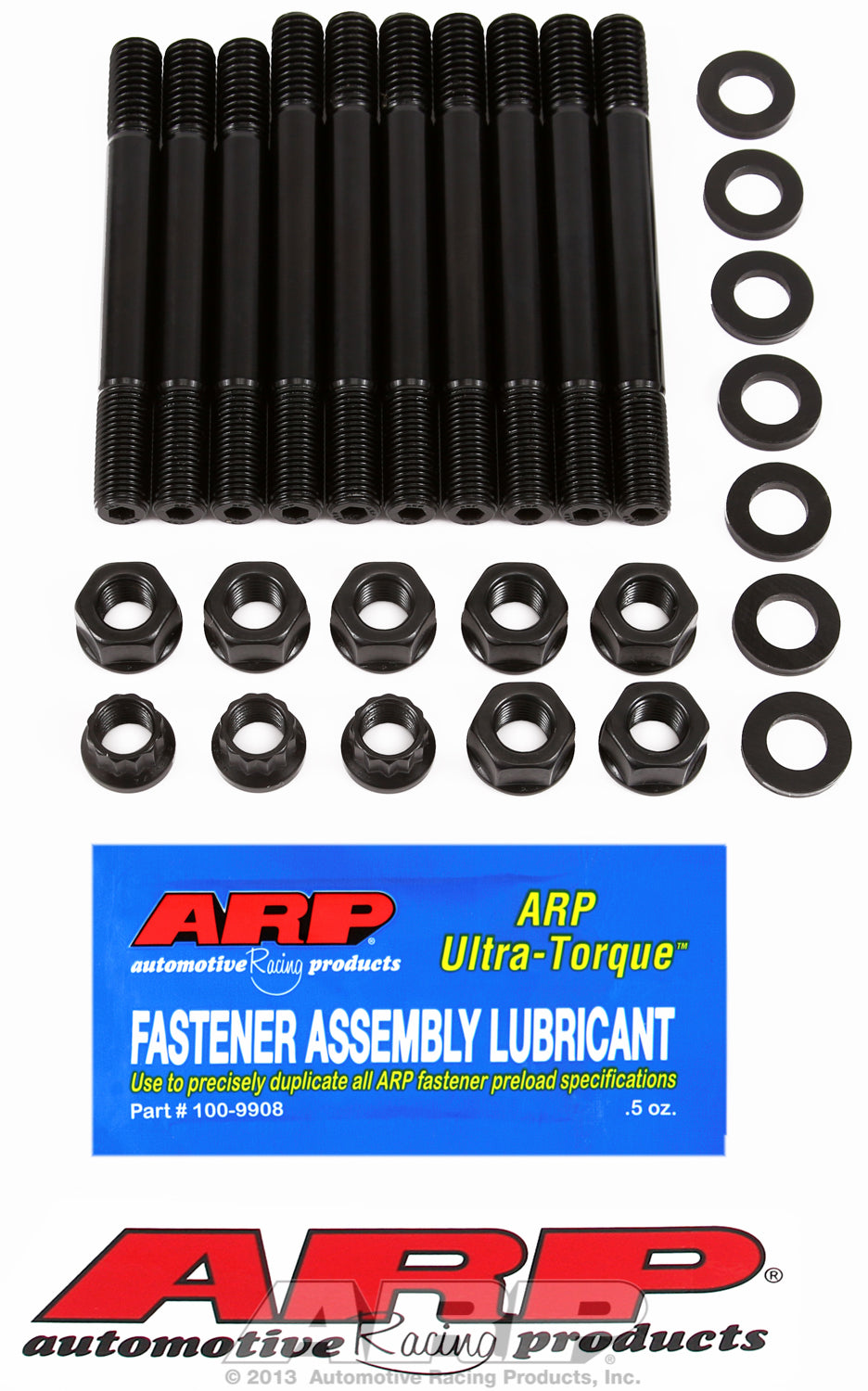 Main Stud Kit for Ford 289-302 cid with girdle (7 studs 1/2˝ longer)