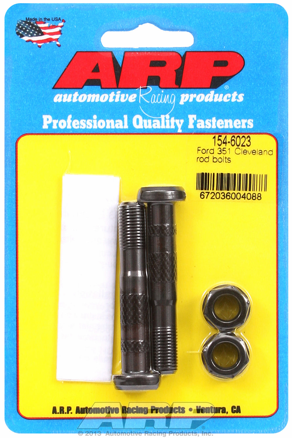 Hi-Perf 8740 (2-pc) Rod Bolt Kit for Ford 351 Cleveland
