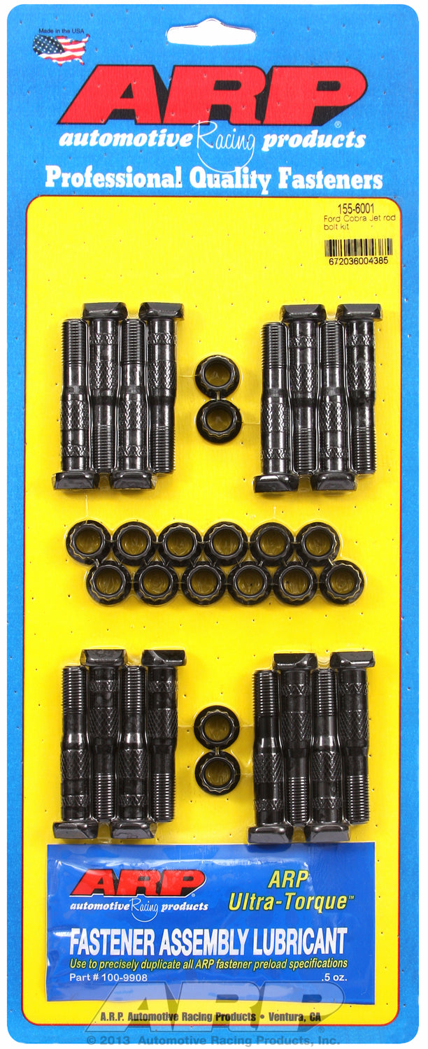 Hi-Perf 8740 Complete Rod Bolt Kit for Ford 428 Cobra Jet (replacement for 13/32˝ bolt)