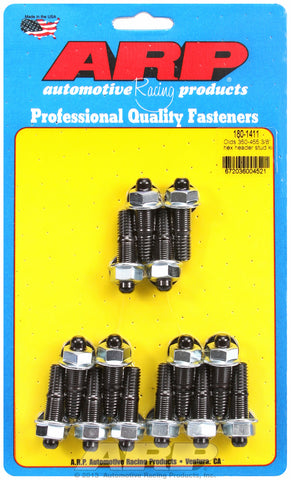 Header Stud Kit for Oldsmobile 330-455 cid Black Oxide Hex Head