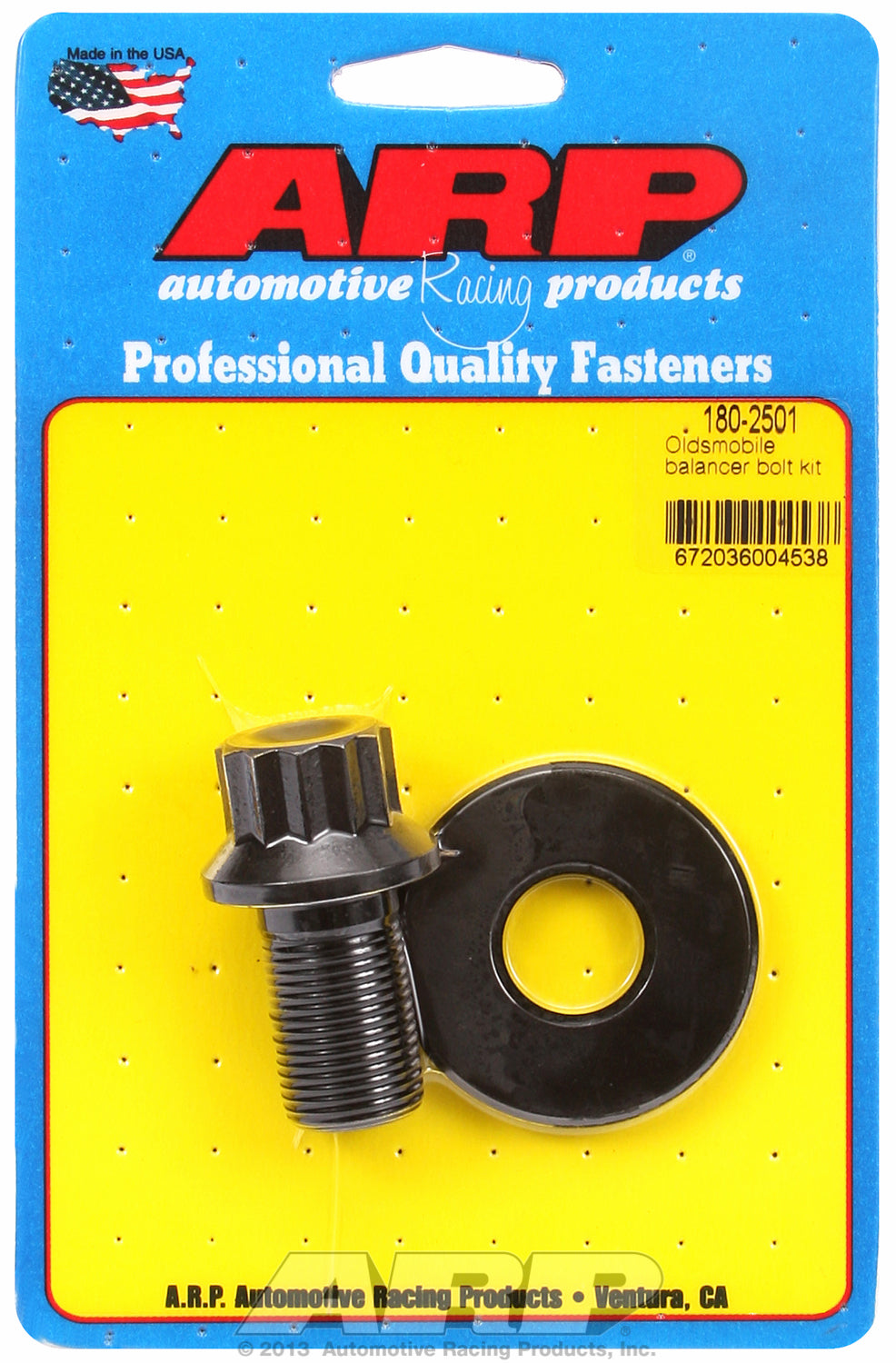 Harmonic Damper Bolt Kit for Oldsmobile V8