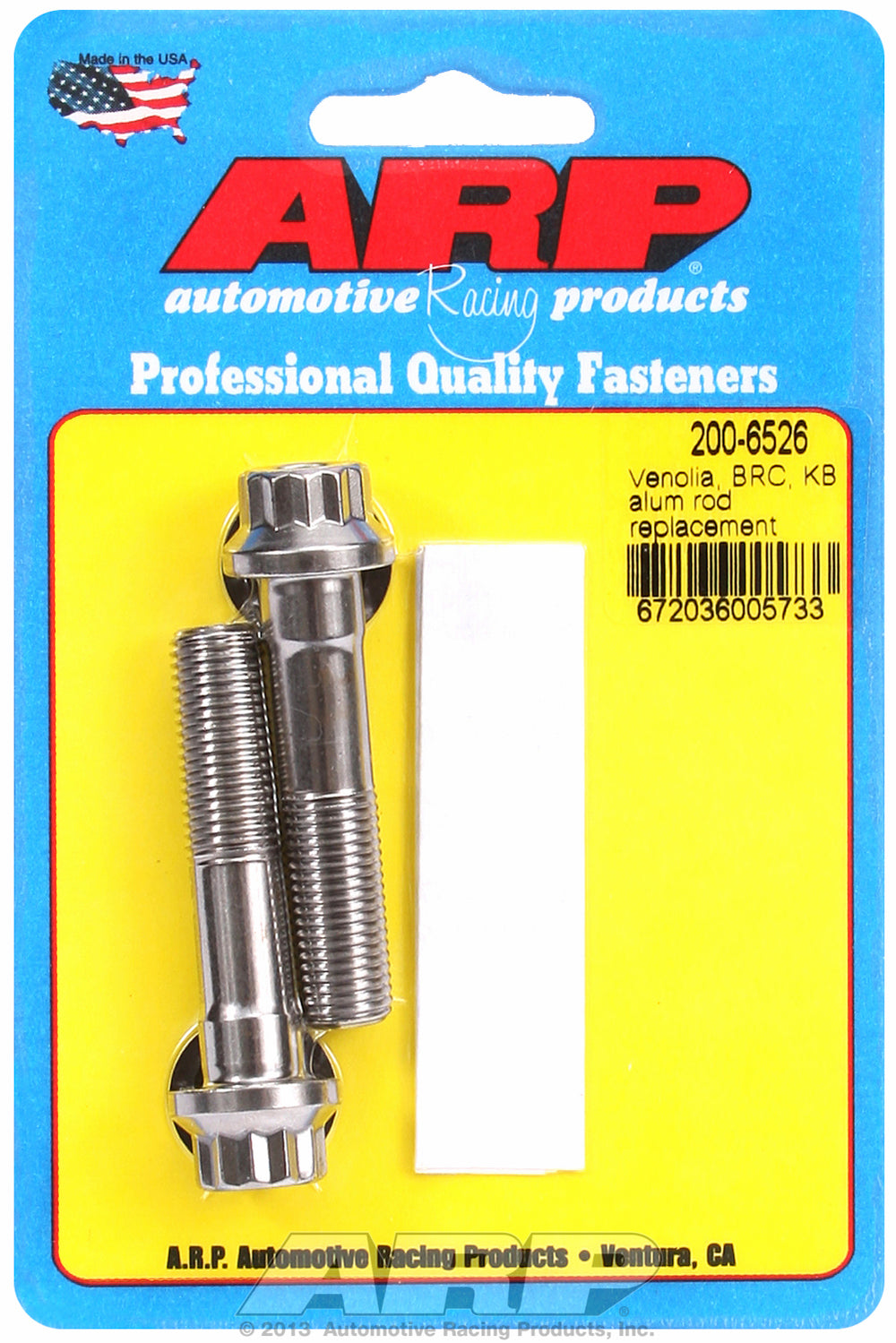 L19 General Replacement Rod Bolt Kit 2-pc Aluminum Rod Replacement