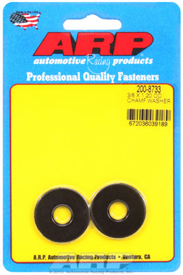 Black Oxide 1-PC BulkSAE Special Purpose Washers w/ Chamfer