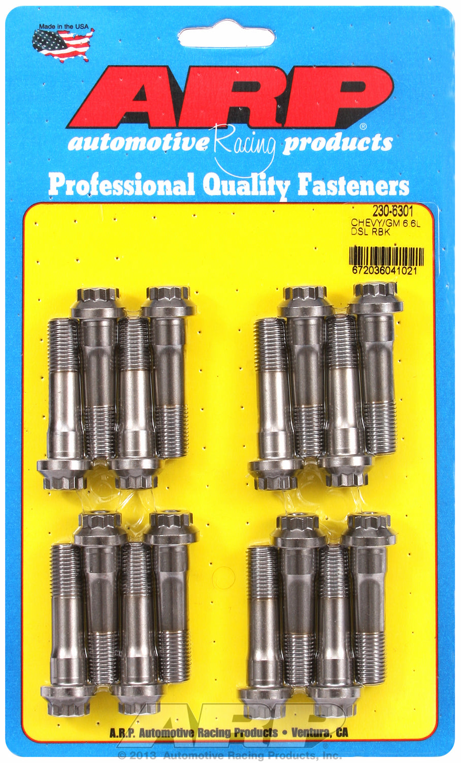 Pro Series ARP2000 Complete Rod Bolt Kit for Chevrolet Chevy/GM 6.6L Duramax