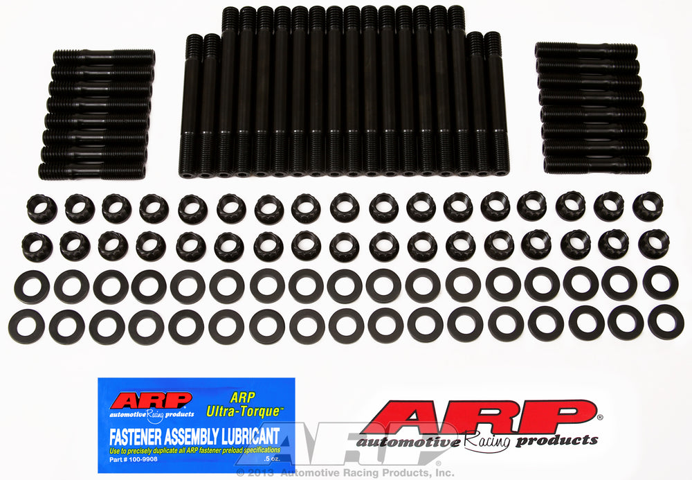 Cylinder Head Stud Kit for SB Chevy undercut 12pt
