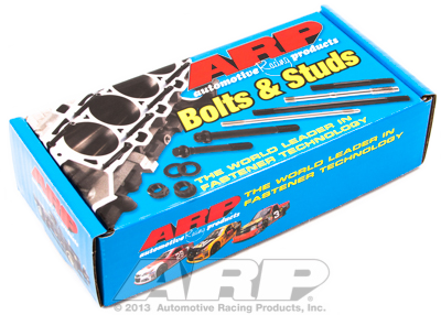 Cylinder Head Stud Kit for SB Chevy, w/Bowtie alum and cast blck,