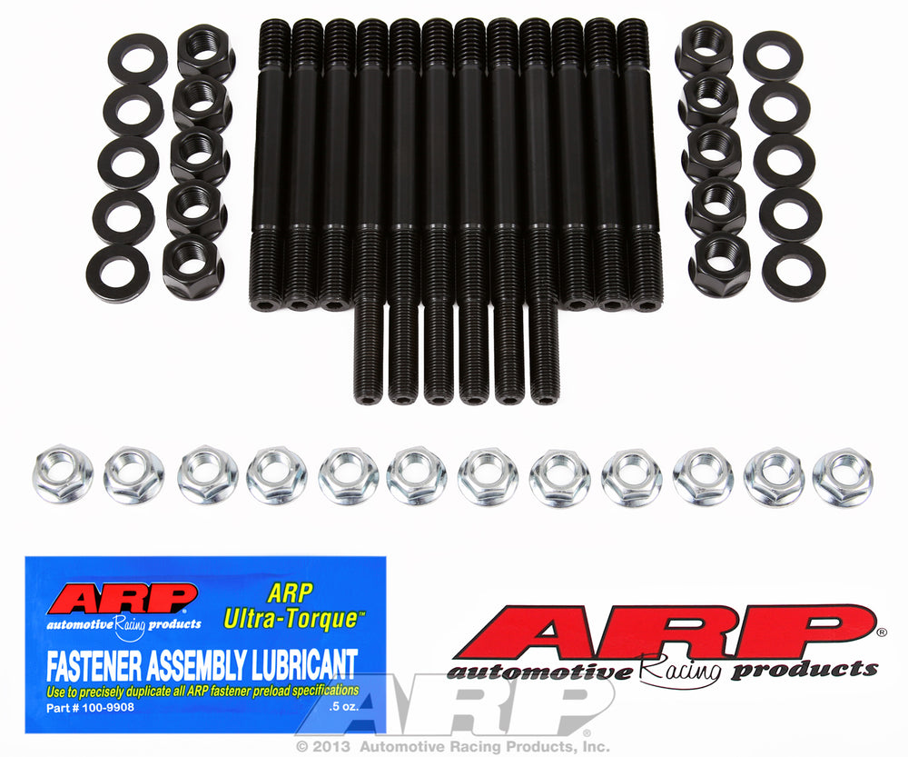"Main Stud Kit for Chevrolet Large journal with aftermarket (4-6 bolt) windage tray 3.25-3.48"" stroke"