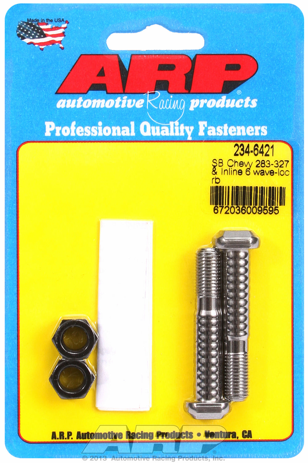 Pro Wave ARP2000 2-pc Rod Bolt Kit for Chevrolet 265-283-327 cid (small journal) 11/32˝