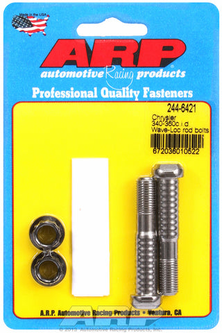 Pro Wave ARP2000 2-pc Rod Bolt Kit for Chrysler 318-340-360 Wedge & 318-360 Magnum