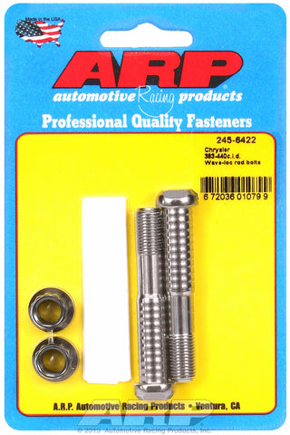 Pro Wave ARP2000 2-pc Rod Bolt Kit for Chrysler 383-400-413-440 Wedge & 354-392 Hemi