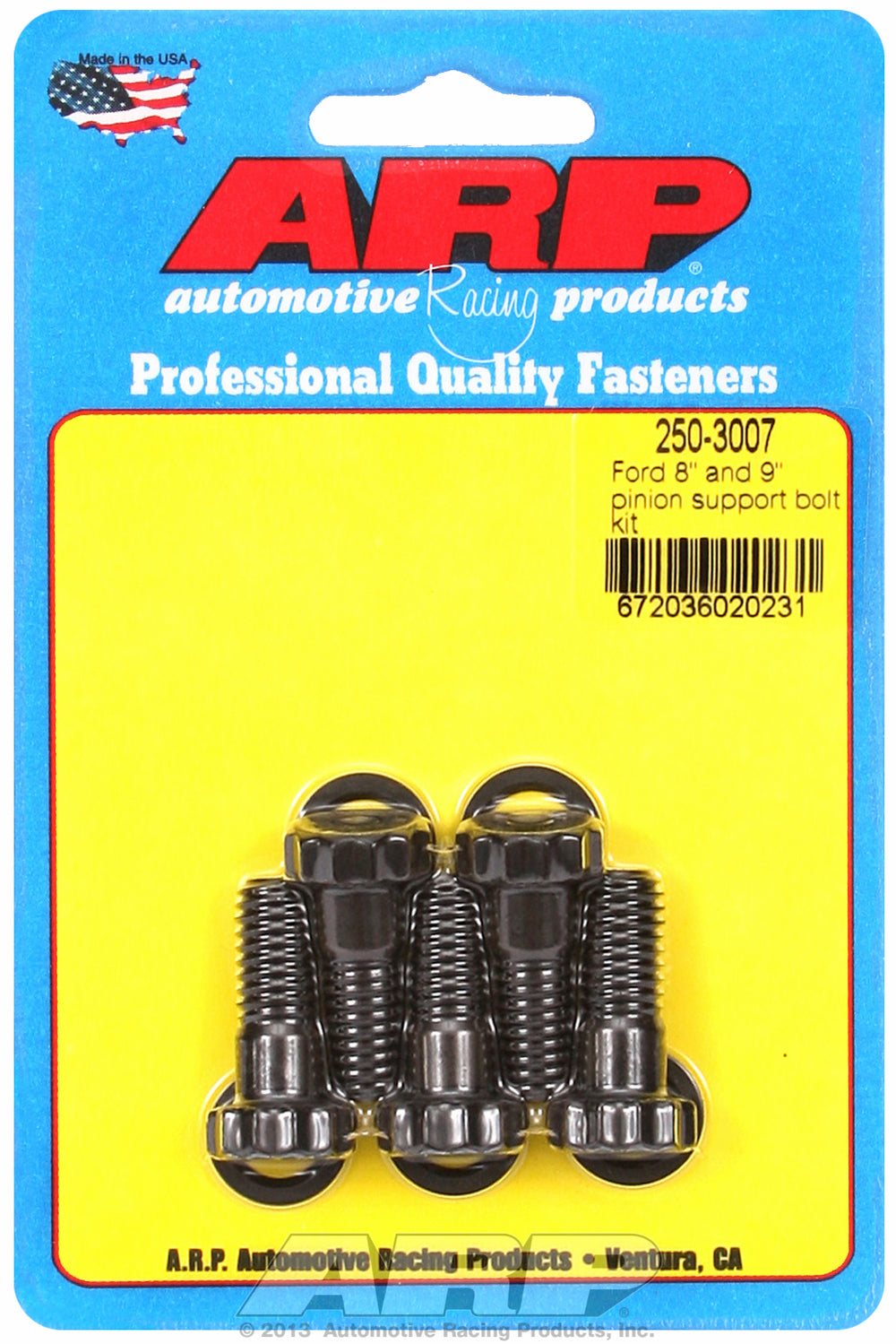 8˝ and 9˝ pinion support bolt kit for Ford 1 UHL 3/8-16 Thread
