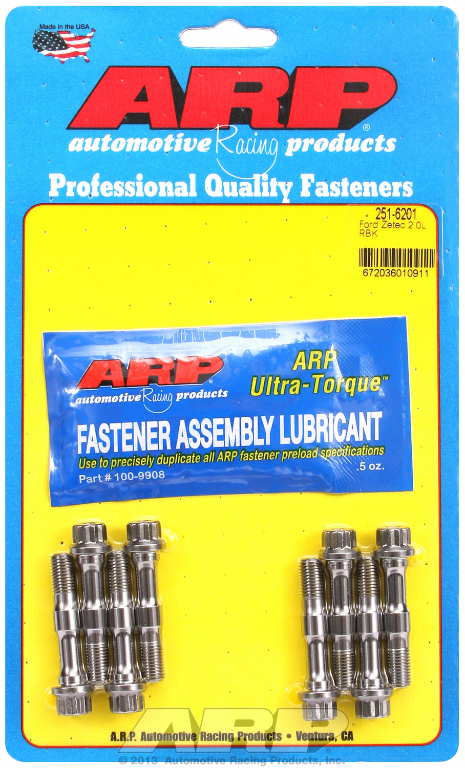 Pro Series ARP2000 Complete Rod Bolt Kit for Ford 2.0L RS 2000 M8