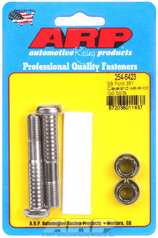 Pro Wave ARP2000 2-pc Rod Bolt Kit for Ford 351 Cleveland