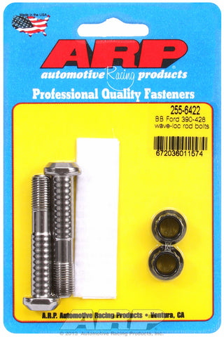 Pro Wave ARP2000 2-pc Rod Bolt Kit for Ford 390-406-410-427-428 cid FE Series