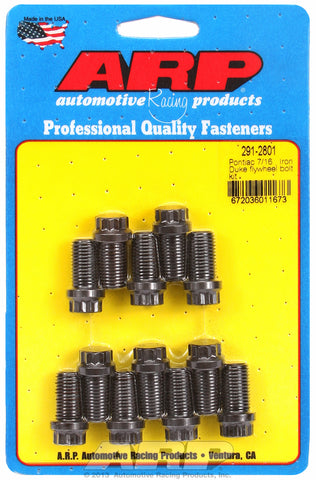 Flywheel Bolt Kit for Pontiac 7/16  Iron Duke