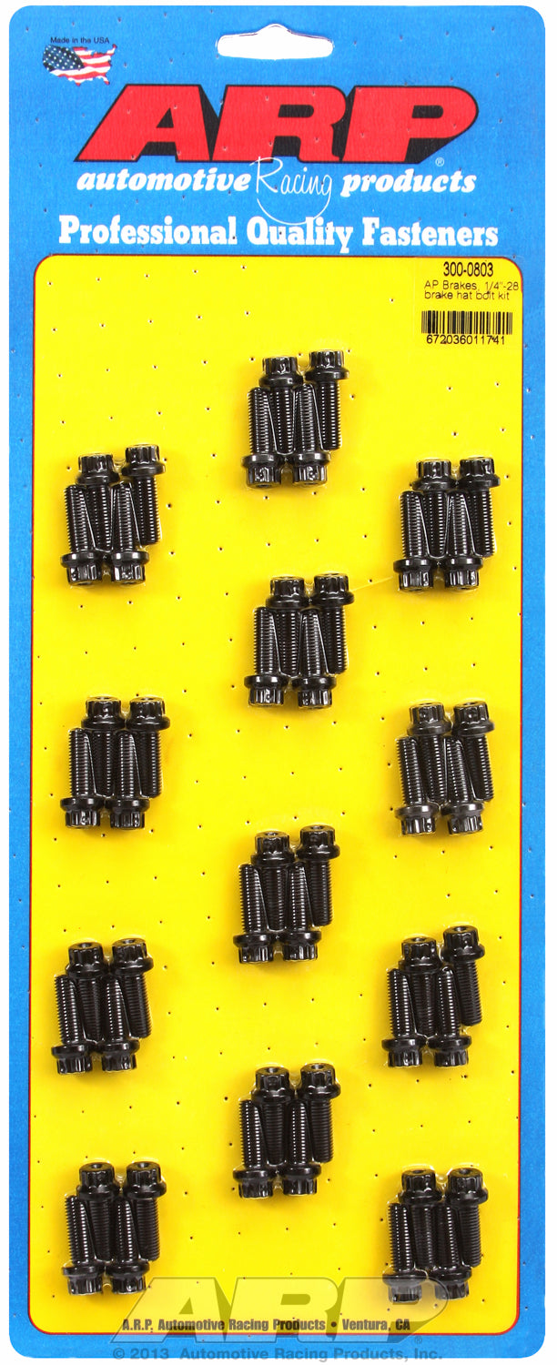 Brake Hat Bolt Kit for 1/4-28 (48 pcs.)