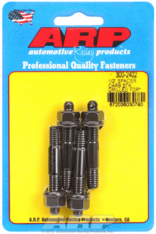 1/2˝ spacer (drilled for NASCAR wire seal) Carb Stud Kit 2.225in OAL