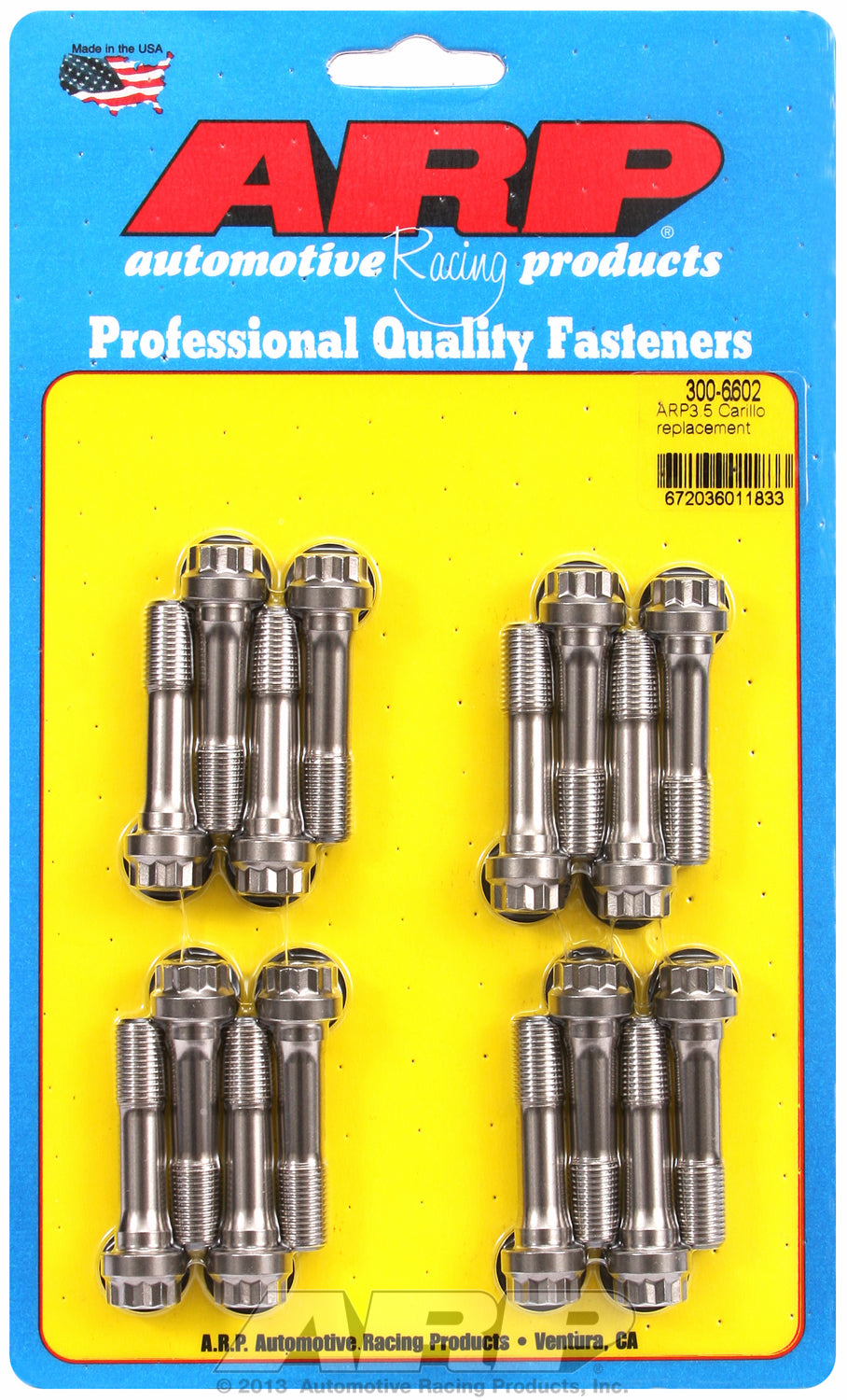 ARP3.5 General Replacement Rod Bolt Kit Complete - Set of 16