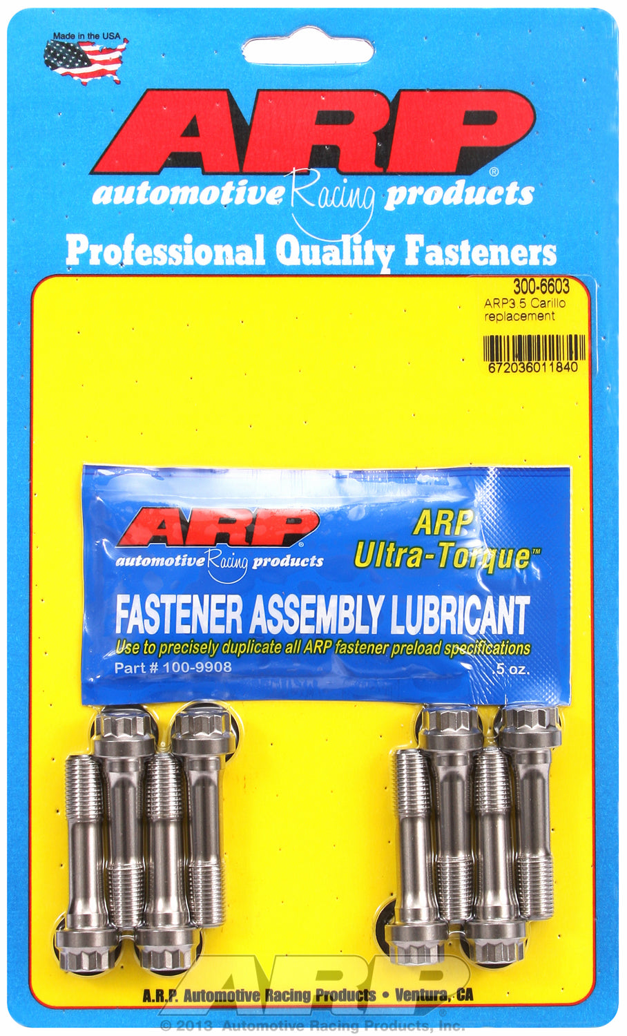 ARP3.5 General Replacement Rod Bolt Kit Complete - Set of 8