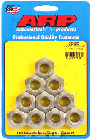 5/8-11 wheel stud nut kit
