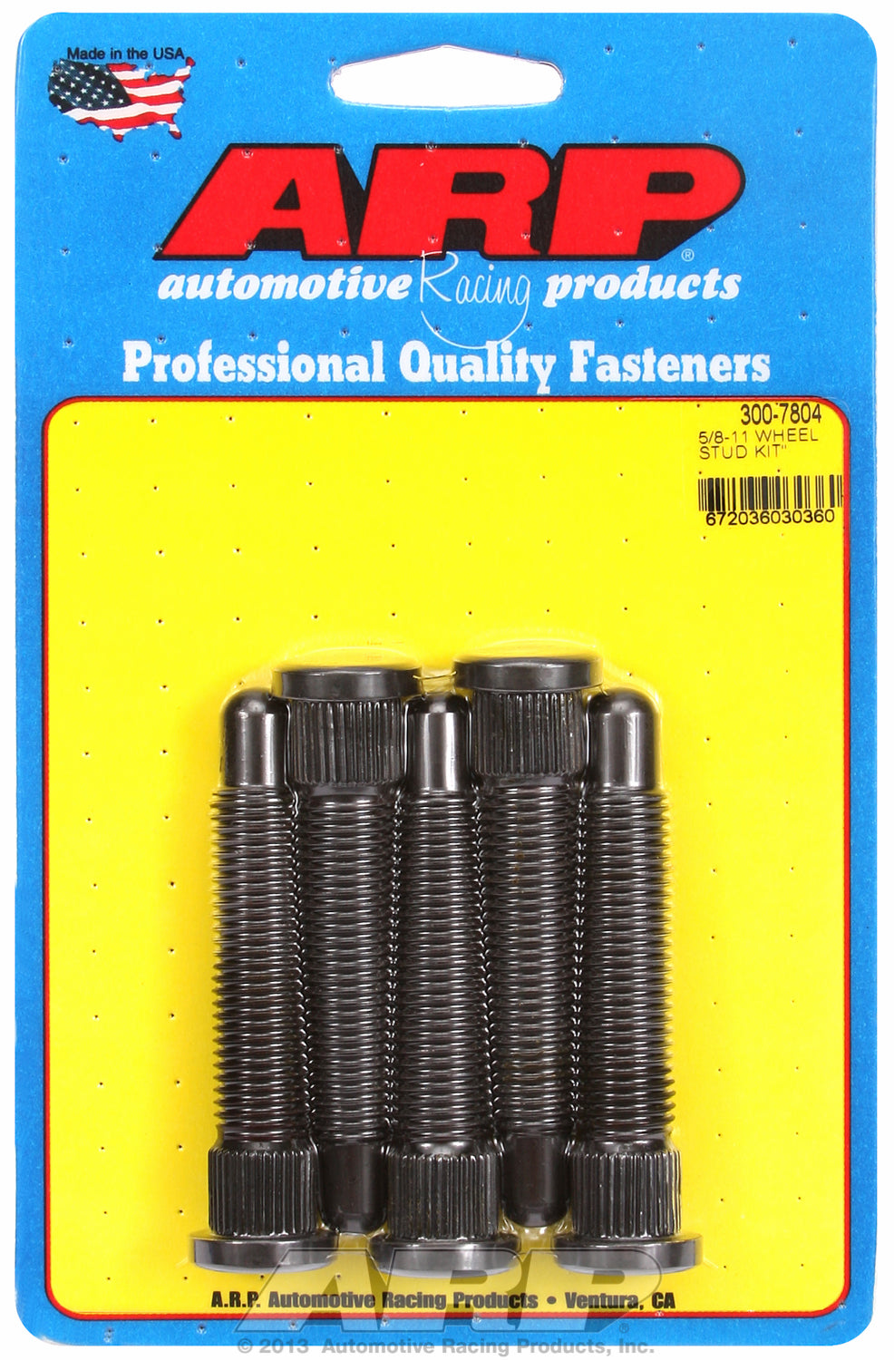 5/8-11 x 4.031 wheel stud kit