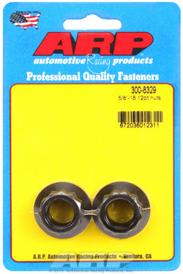 5/8in  8740 Black Oxide 12-pt Nut Kit