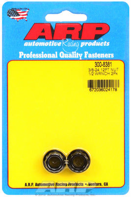 3/8in  8740 Black Oxide 12-pt Nut Kit